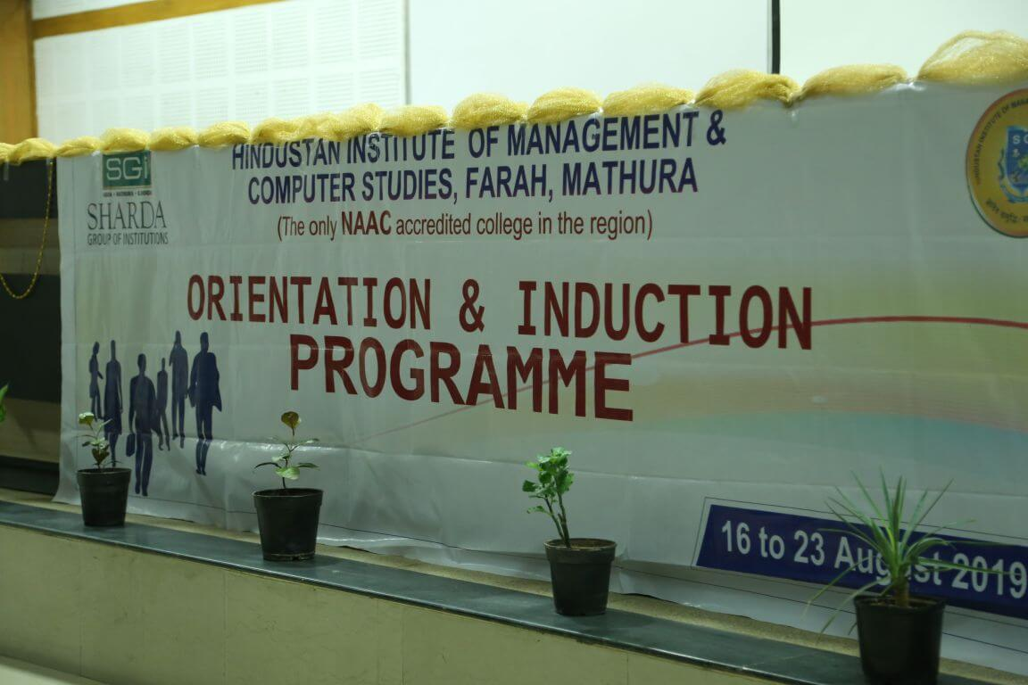 Welcoming 24th batch at campus (Orientation & Induction Programme)