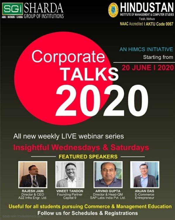 Corporate Talk Series